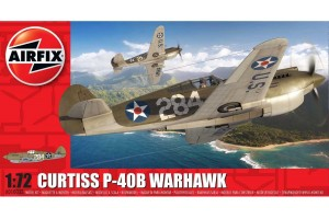 Curtiss P-40B Warhawk (1:72) - A01003B