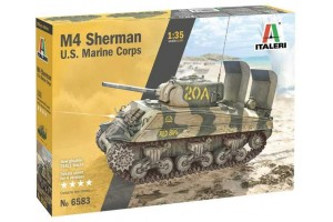 M4 SHERMAN U.S. MARINE CORPS (1:35) - 6583