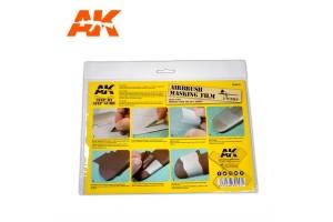 Airbrush Masking Film 2pcs - AK9045
