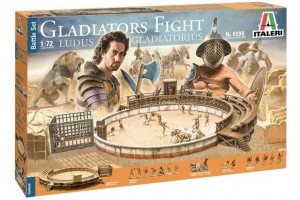 Gladiators fight (1:72) - 6196