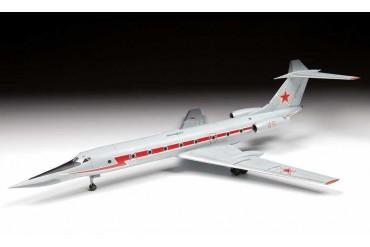 """Model Kit letadlo 7036 - Training plane TU-134UBL """"CRUSTY-B"""" (1:144)"""