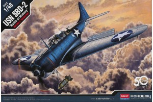 """USN SBD-2 """"Midway"""" (1:48) - 12335"""