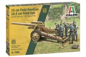 15 cm Field Howitzer / 10,5 cm Field Gun (1:72) - 7082