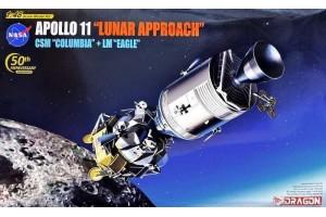 """Apollo 11 """"Lunar Approach"""" CSM """"Columbia"""" + LM """"Eagle"""" (1:48) - 11009"""