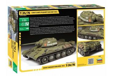 Model Kit tank 3686 - T-34/76 mod.1942 (1:35)