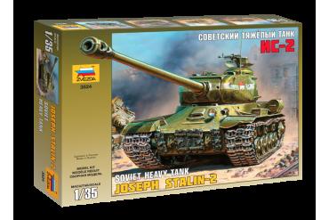 Model Kit tank 3524 - Josef Stalin-2 Soviet Heavy Tank (1:35)