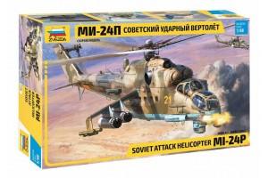Model Kit vrtulník 4812 - MIL Mi-24P Russ.Attack Helicopter (1:48)