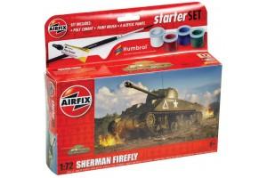 Starter Set tank A55003 - Sherman Firefly (1:72)