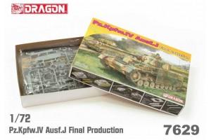 Model Kit tank 7629 - Pz.Kpfw.IV Ausf.J Final Production (1:72)