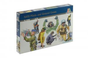 NATO PILOTS AND GROUND CREW (1:72) - 1246