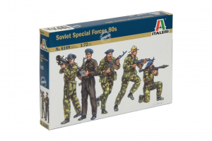 """Soviet Special Forces """"SPETSNAZ"""" (1980s) (1:72) - 6169"""