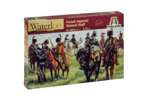 FRENCH IMPERIAL GENERAL STAFF (NAP. WARS) (1:72) - 6016
