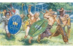 GAULS WARRIORS (I-II CENTURY B.C.) (1:72) - 6022