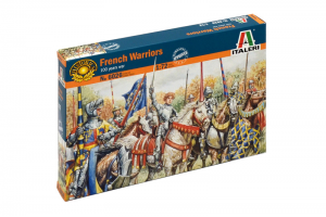 FRENCH WARRIORS (100 YEARS WAR) (1:72) - 6026