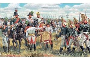 AUSTRIAN & RUSSIAN GEN. STAFF (NAP. WARS) (1:72) - 6037