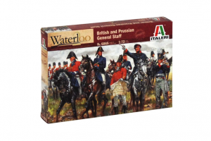 BRITISH & PRUSSIAN GENERAL STAFF (NAP.WARS) (1:72) - 6065