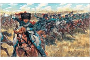 NAPOLEONIC WARS - FRENCH LIGHT CAVALRY (1:72) - 6080