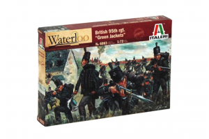 NAPOLEONIC WARS - BRITISH 95th rgt. (1:72) - 6083