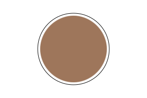 4709AP - Flat Dark Tan 20ml - akryl
