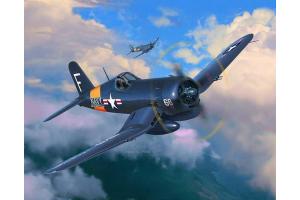 Plastic ModelKit letadlo 03955 - F4U-4 Corsair (1:72)