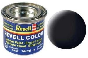 Barva Revell emailová - 32108: matná černá (black mat)