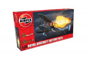 Royal Aircraft Facility BE2C (1:72) - A02101