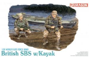 BRITISH SBS w/KAYAK (1:35) - 3023