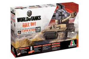 Model Kit World of Tanks 56501 - Pz.Kpfw.VI Tiger (1:56)