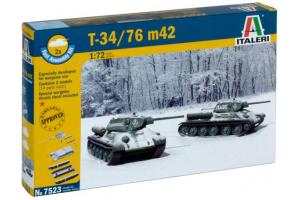 T 34 / 76 m42 (1:72) - 7523