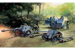 GERMAN GUNS SET: PAK35-PAK40-FLAK38 (1:72) - 7026