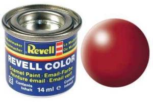 330: hedvábná ohnivě rudá (fiery red silk) - Email