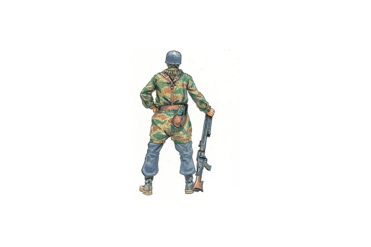 Italeri 1//72 Scale WWII German Paratroopers Plastic Model Kit 6045 for sale online