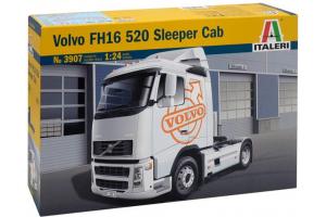 Model Kit truck 3907 - VOLVO FH16 520 SLEEPER CAB (1:24)