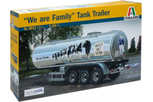"Model Kit návěs 3911 - CLASSIC TANK TRAILER ""We are family"" (1:24)"