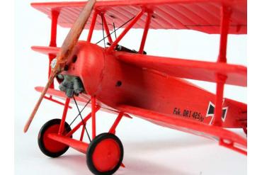 Plastic ModelKit letadlo 04116 - 'Fokker DR. 1 Triplane (1:72)