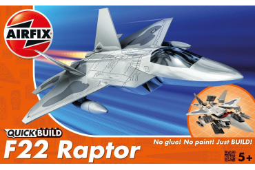 Quick Build letadlo J6005 - Lockheed Martin Raptor