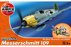 Quick Build Messerschmitt 109 - J6001