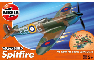 Quick Build Supermarine Spitfire - J6000