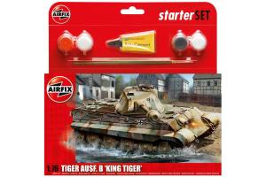 King Tiger Tank (1:76) - A55303