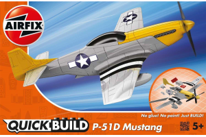 Quick Build P-51D Mustang - nová forma - J6016