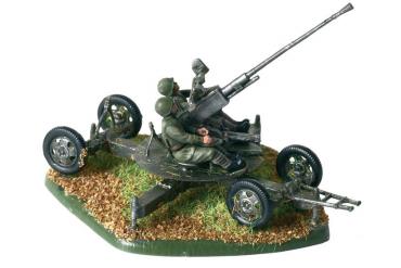 Wargames (WWII) figurky 6115 - Soviet Anti-Aircraft Gun 61-K with Crew (1:72)