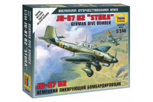 Wargames (WWII) letadlo 6123 - Junkers JU-87 Stuka (1:144)