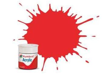 Humbrol barva akryl AB0209 - No 209 Fire Orange - Gloss - 12ml