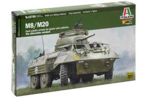 Wargames military 15759 - M8 / M20 (1:56)