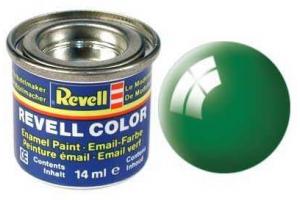 Barva Revell emailová - 32161: lesklá smaragdově zelená (emerald green gloss)