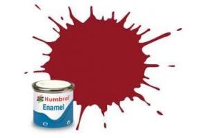 Humbrol barva email AQ0229 - No 20 Crimson - Gloss - 50ml