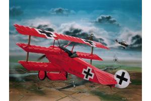 Fokker Dr.I 'Richthofen' (1:28) -  04744