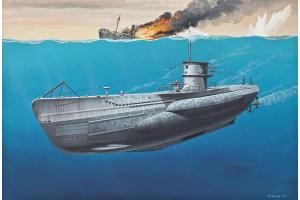 U-Boot Typ VIIC  (1:350) - 05093