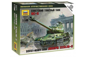 Wargames (WWII) tank 6201 - IS-2 Stalin (1:100)