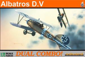 Albatros D. V DUAL COMBO 1:72 - 7021